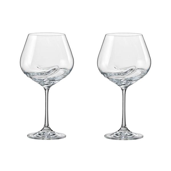 Wijnglazen gemaakt uit eco-kristalglas